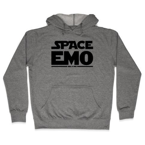 Space Emo Parody Hooded Sweatshirt