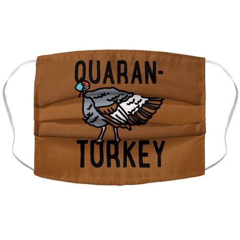 Quaran-Turkey Accordion Face Mask