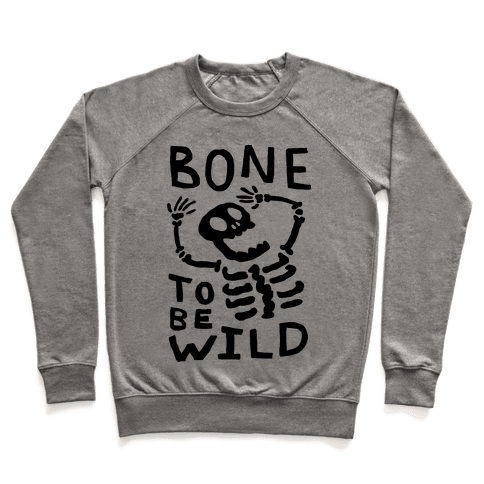 Bone To Be Wild Skeleton Pullover