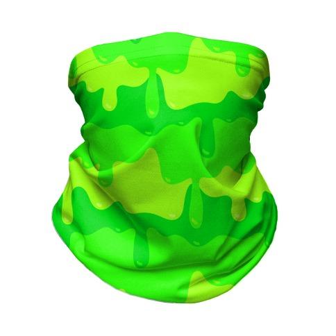 Green Slime Neck Gaiter