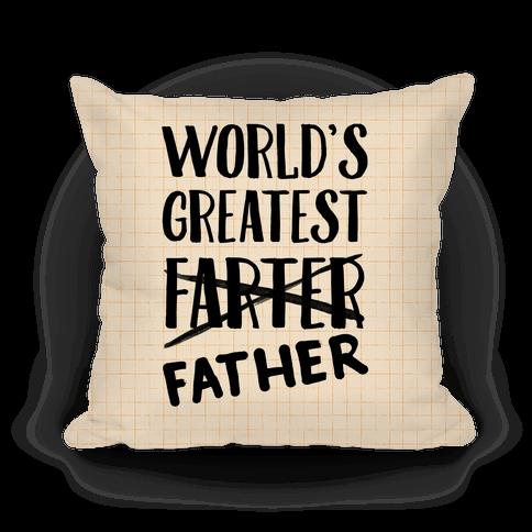 World's Greatest Farter Pillow