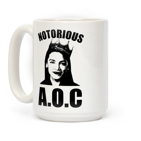 Notorious AOC (Alexandria Ocasio-Cortez) Coffee Mug