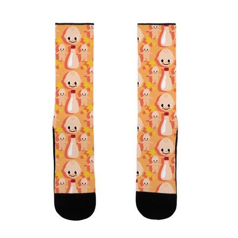 Little Baby Mayo Pattern Sock