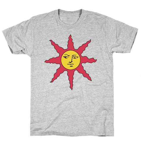 Solaire of Astora Cosplay Mens T-Shirt