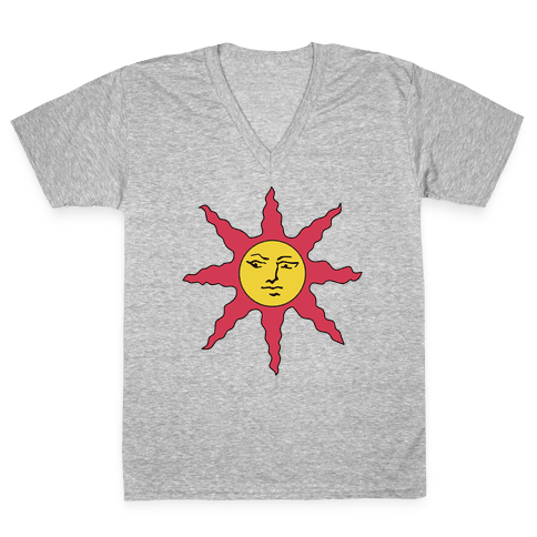 Solaire of Astora Cosplay V-Neck Tee Shirt