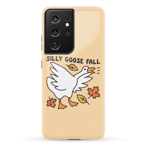 Silly Goose Fall Phone Case