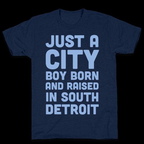 Just a City Boy (1 of 2 Pair) Mens T-Shirt