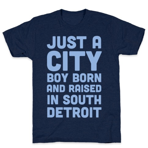 Just a City Boy (1 of 2 Pair) Mens T-Shirt