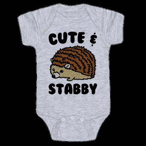 Cute & Stabby  Baby Onesy