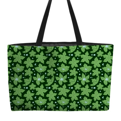 Tree Star Pattern Weekender Tote