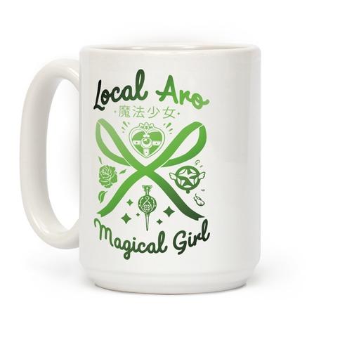 Local Aro Magical Girl Coffee Mug