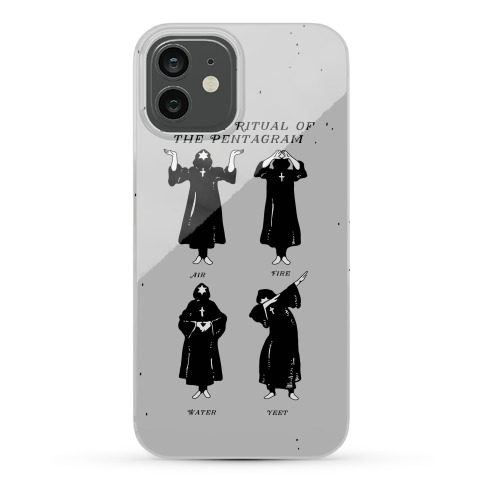 Greater Ritual of the Pentagram Dab Phone Case
