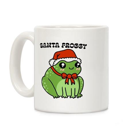 Santa Froggy Coffee Mug