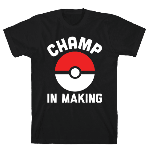 Champ in Making Mens T-Shirt