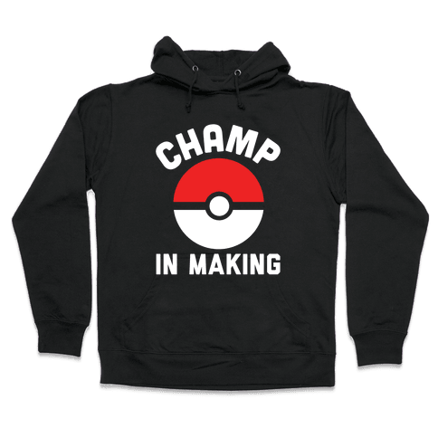 Champ in Making Hooded Sweatshirt