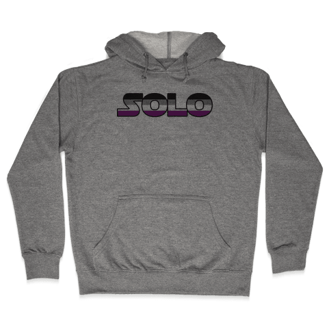 Solo (Asexual) Hooded Sweatshirt