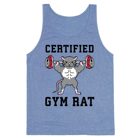 Certified Gym Rat Tank Top