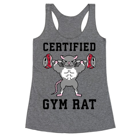 Certified Gym Rat Racerback Tank Top