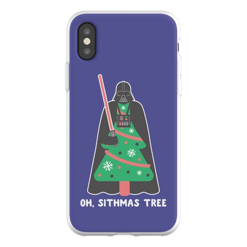 Oh, Sithmas Tree Phone Flexi-Case