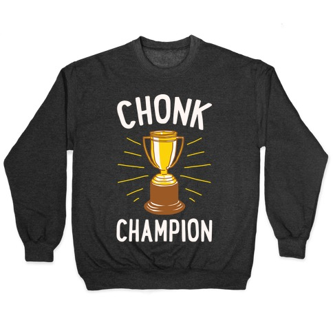 Chonk Champion White Print Pullover