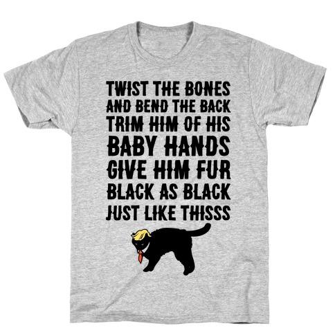 Hocus Pocus Spell Trump Parody Mens T-Shirt
