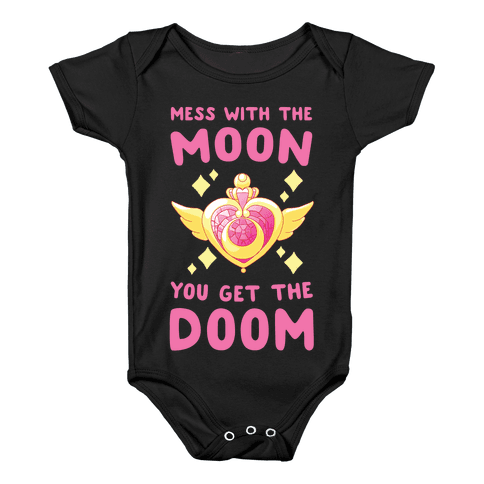Mess With the Moon, You Get the Doom Baby Onesy