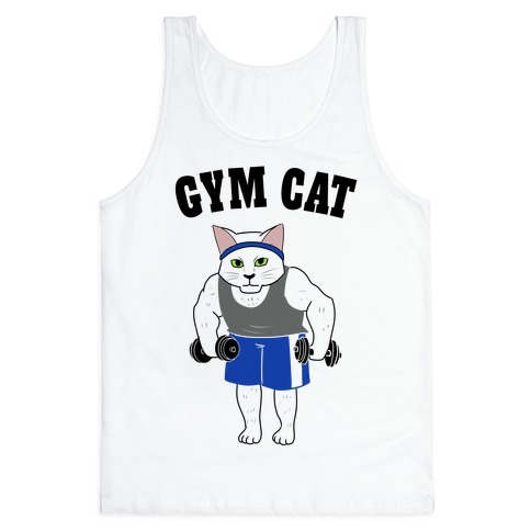 Gym Cat Tank Top