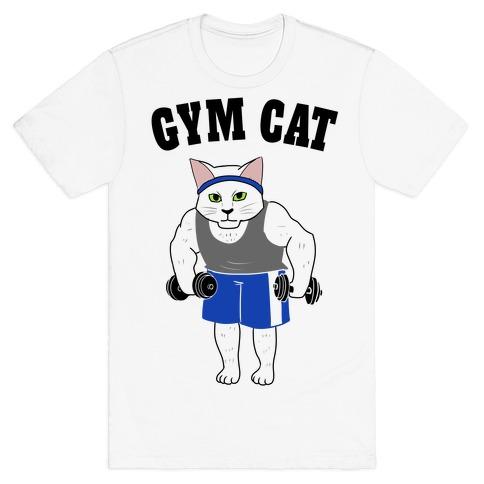 Gym Cat T-Shirt