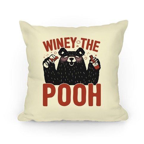 Winey The Pooh Pillow