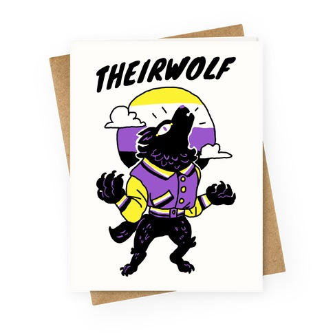 Theirwolf Greeting Card
