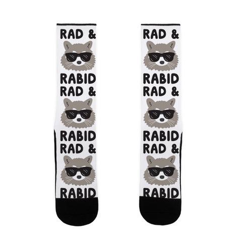 Rad & Rabid Sock
