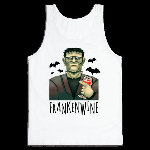 Frankenwine Tank Top