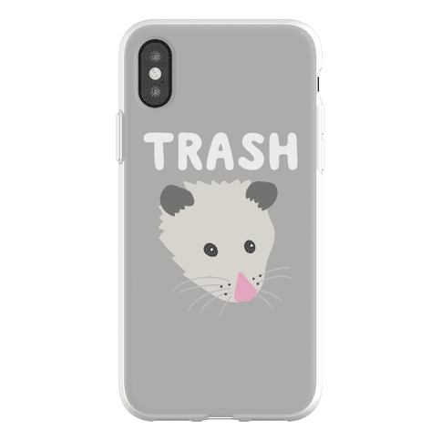 Trash Mates Pair - Opossum 1/2 Phone Flexi-Case