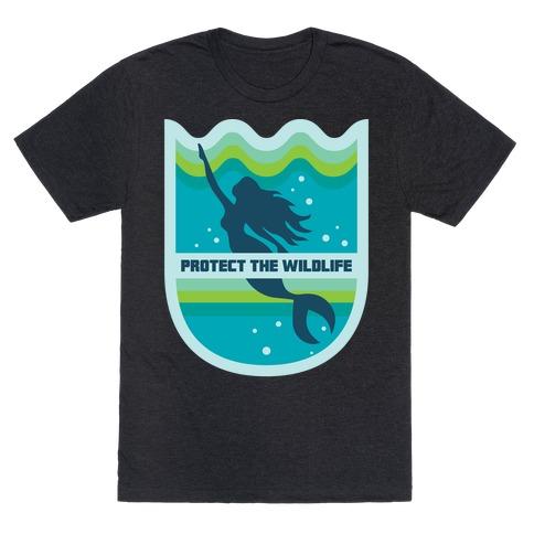 Protect The Wildlife (Mermaid) T-Shirt