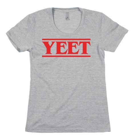 Yeet Stranger Things Parody Womens T-Shirt
