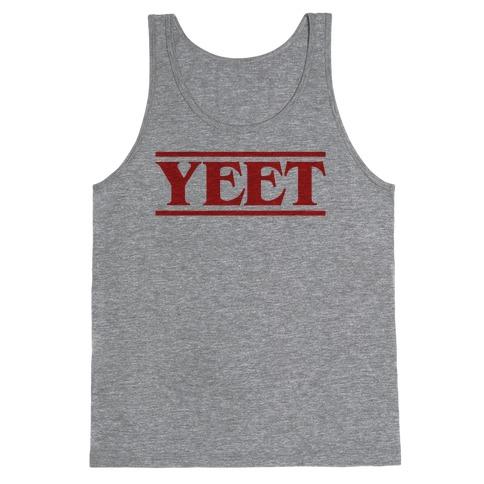 Yeet Stranger Things Parody Tank Top