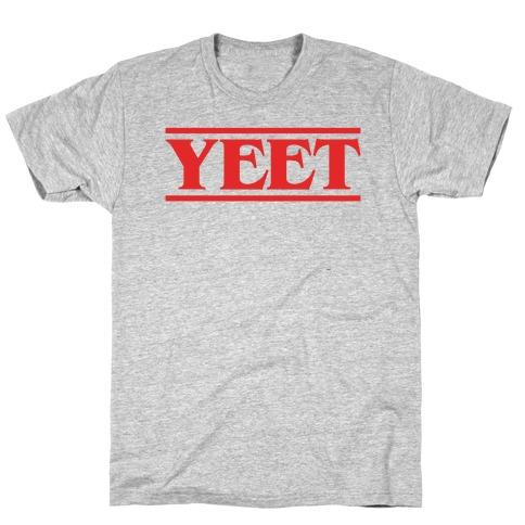 Yeet Stranger Things Parody T-Shirt