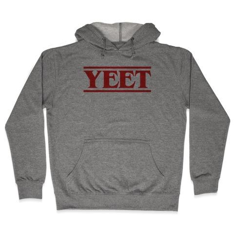 Yeet Stranger Things Parody Hooded Sweatshirt