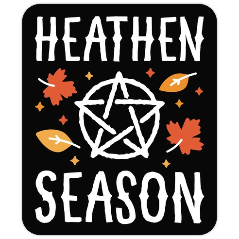 Heathen Season Die Cut Sticker