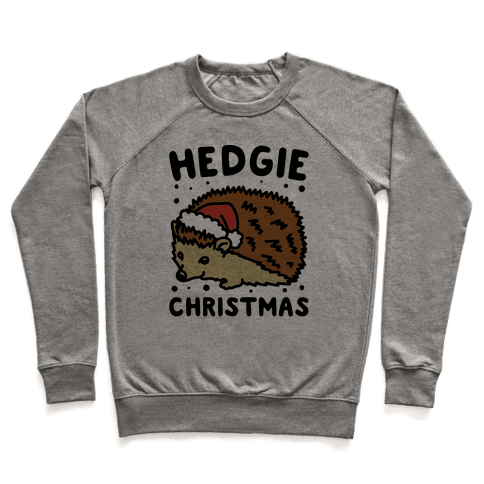 Hedgie Christmas Pullover