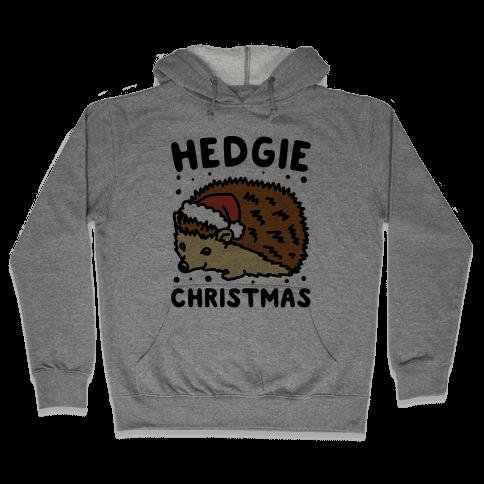 Hedgie Christmas Hooded Sweatshirt