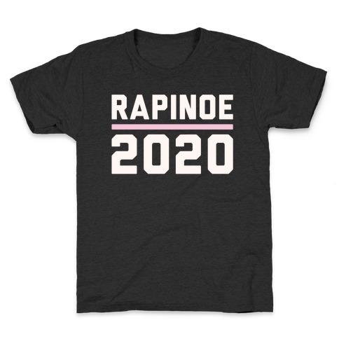 Rapinoe 2020 White Print Kids T-Shirt