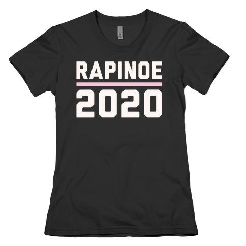 Rapinoe 2020 White Print Womens T-Shirt
