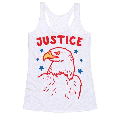 Liberty & Justice 2 Racerback Tank Top