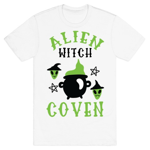 Alien Witch Coven T-Shirt