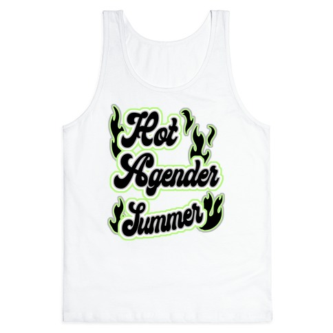 Hot Agender Summer Tank Top
