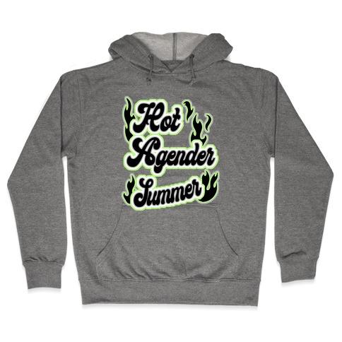 Hot Agender Summer Hooded Sweatshirt