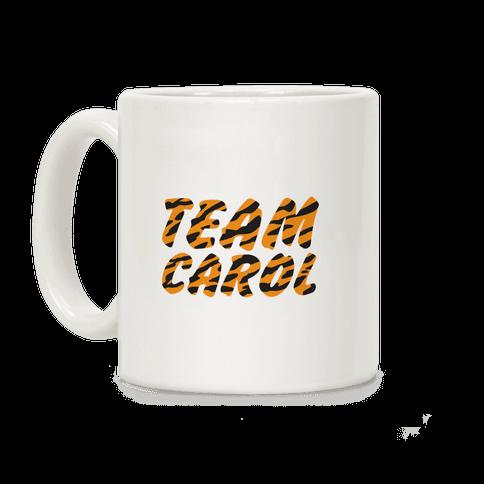 Team Carol Parody Coffee Mug