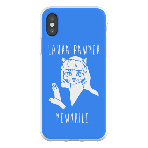 Laura Pawmer Parody Phone Flexi-Case