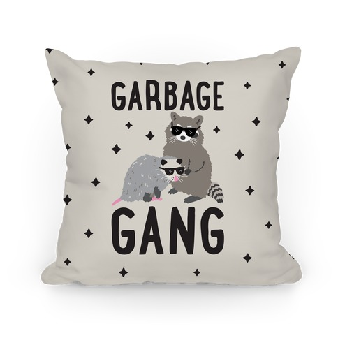 Garbage Gang Pillow